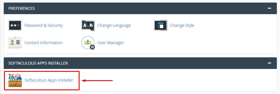 Install WordPress secara Otomatis (via Softaculous)